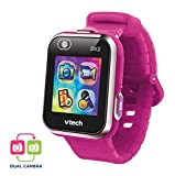 VTech Kidizoom Smart Watch DX2 - Reloj inteligente para niños con doble cámara, color Frambuesa (80-193847)