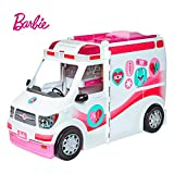 Barbie Ambulancia Hospital 2 en 1, Multicolor, 0 (Mattel FRM19)