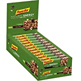 PowerBar Natural Energy Cereal Cacao Crunch 24x40g - Barras de Energía de Carbohidratos Veganos + Magnesio